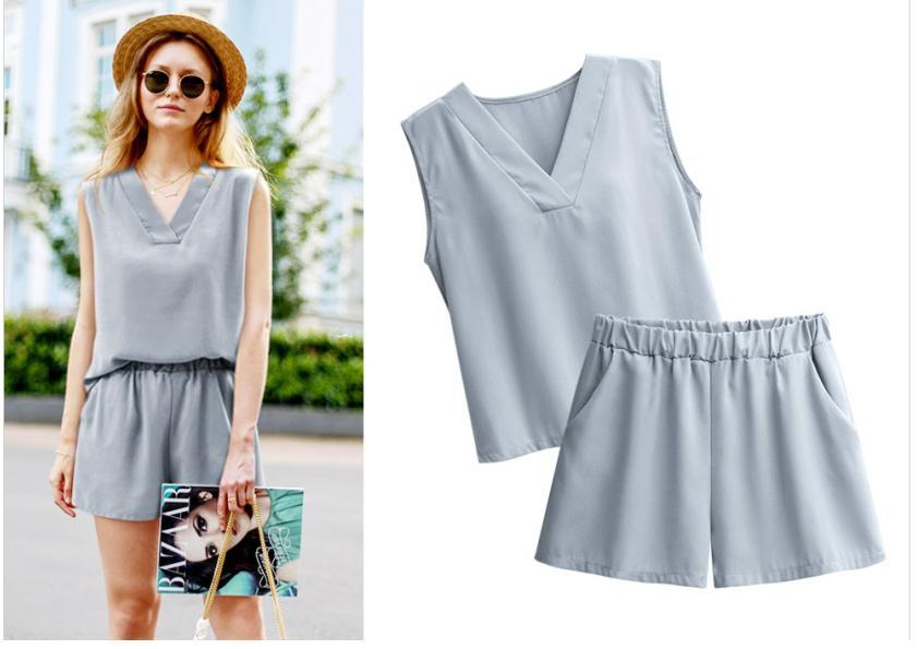 2-Piece Casual Top & Pants Set (Code: E1103)