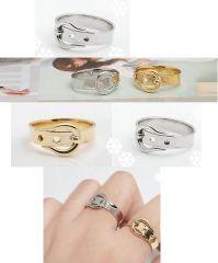 Korean Style Belt Shape Ring