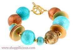 The Blues in Love with Bronze bracelet