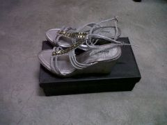 Step Grey Wedges for sale