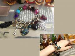 Imported Vintage Peacock Bracelet.jpg