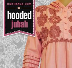 Fariha Hooded maxi by UMYHANZA