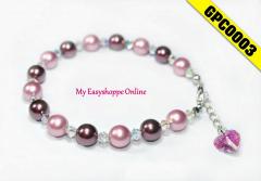 Swarovski Pearl Bracelet. CODE:GPC0003
