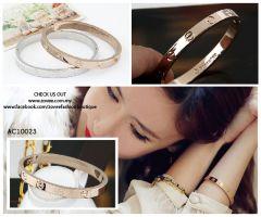 ❖ Eternity Bracelet with Rose Gold Plating ❖
