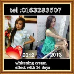 WHITENING CREAM 100% EFFECTIVE-FAIRER WITHIN A MONTH