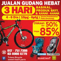 Warehouse Sales 4-6/12/15 Puchong