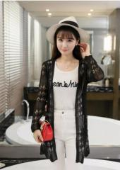 Knitted Long-Sleeves Cardigan (Code: T3384)