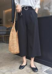 Culottes with Attached Belt (Code: T9074)