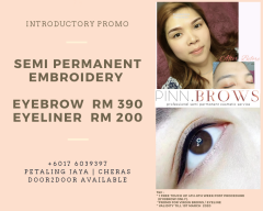 EYEBROW l EYELINER EMBROIDERY